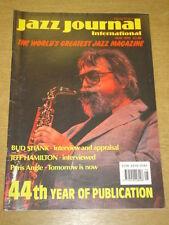 JAZZ JOURNAL INTERNATIONAL VOL 44 #5 1991 MAY BUD SHANK JEFF HAMILTON