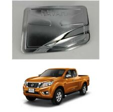 Chrome Fuel Gas Oil Tank Cap Cover Trim For 2015-2018 Nissan Frontier 2WD Pickup