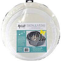 """Bosal Craf-tex & In-r-foam Nesting Bowls-6 Circles 2 Each 12"""", 14"""" & 16"""""""