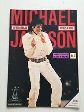 Michael Jackson Wembley Wizard Souvenir Edition No. 2 1988 Magazine GC