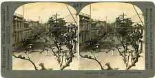 Philippines ~ MANILA ~ Horse & Buggy On Calle Real Stereoview 10058 ve547b fx