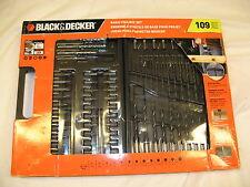 Black & Decker Basic Project Set 109 PC #71-109