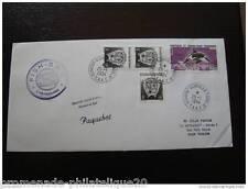 TAAF carta 25/1/1994 - sellos yt n°163 et 177 (cy3)