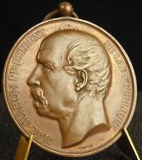 Médaille Mac-Mahon Président de la République par Tasset  Medal 铜牌 Tir Duquesne