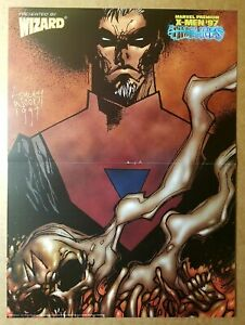 Bastion Marvel Comics Poster by Ashley Wood