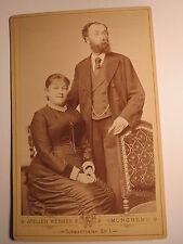 München - 1884 - Maria und Cäsar Radl als Paar -  / KAB