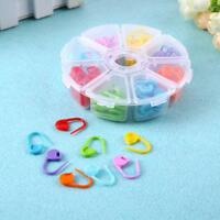 104pcs 8 Colors Knitting Accessories Crochet Locking Stitch Needle Clip Marker