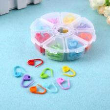 104pcs 8 Colors Knitting Accessories Crochet Locking Stitch Needle Clip Marker