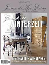 Jeanne d`arc living Magazin 01 21 Zeitschrift kleines schwedenhaus Winter shabby
