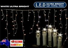 600LED 14.9m - 960LED 23.9m Snowing Icicle Xmas Lights With 8 Functions & Memory