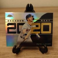 2020 Topps Chrome Update PETE ALONSO Decade's Next REFRACTOR!!!