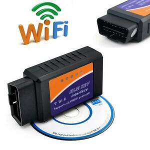 ELM 327 WiFi Car OBD2 Diagnostics Scanner Code Reader for iOS AND Android OBD