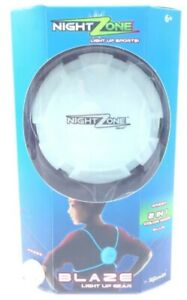 Night Zone Blaze Light Up Sports Outdoor Game 2 in 1 Color Mode by Toy Smith New