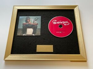 PERSONALLY SIGNED/AUTOGRAPHED KSI - ALL OVER THE PLACE FRAMED CD PRESENTATION
