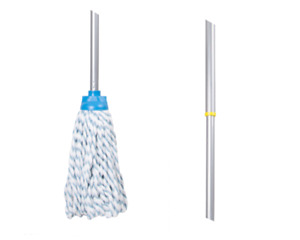 FLASH Duo Mop with Extending Handle Wham Clean Cleaning