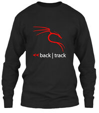 Quality Backtrack Kali Linux Tees - Back Track Gildan Long Sleeve Tee T-Shirt