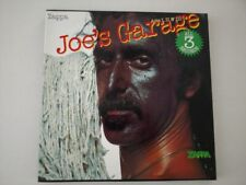FRANK ZAPPA 3LP-BOX JOE'S GARAGE ACTS I, II & III 1987 ZAPPA 20 UK PRESS