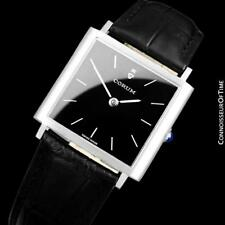 Corum Classic Vintage Mens Square Dress Watch - Stainless Steel