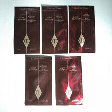 5x CHARLOTTE TILBURY Light Wonder Foundation # 9 DARK Samples Lot 0.05 oz Each