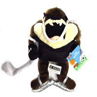 "9"" Tasmanian Devil Taz Hockey Player Bean Bag Warner Brothers"