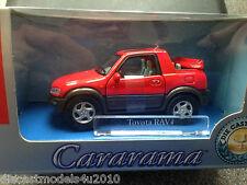 CARARAMA - TOYOTA RAV 4 - RED - 1:43 SCALE