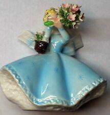 "Vintage Leftone: ""Little Flower Girl "" Ceramic Figurine"