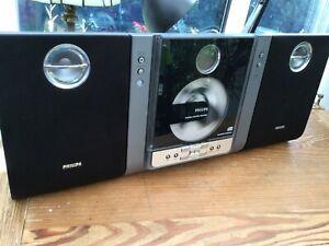 Phillips Micro System MC235B CD Player/Radio