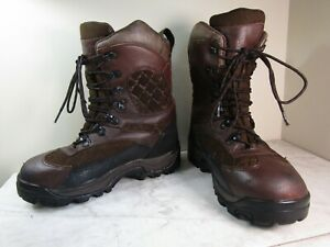 Irish Setter By Red Wing Women's 1000 Gram Hunting Boots Brown Leather 8.5 B