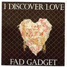 (HG334) Fad Gadget, I Discover Love - 1983 - 7 inch vinyl