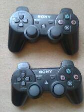 2 x PS3-Sony Wireless-Dualshock-Controller-schwarz