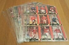 MANCHESTER UNITED TRADING CARDS 1-100 BY FUTERA 1997 COLLECTION