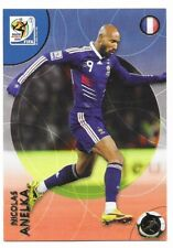 2010 Panini FRANCE NICOLAS ANELKA World Cup Soccer FOOTBALL #108 CARD POST