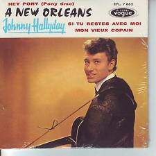CD 4 titres JOHNNY HALLYDAY n°9 A NEW ORLEANS  ** HEY PONY