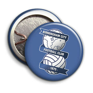 Birmingham City Football Club - Button Badge - 25mm 1 inch - BCFC Logo