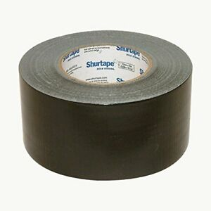 Shurtape PC-600 General Purpose Grade Duct Tape: 3 in. x 60 yds. (Black)