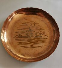 Antique Arts And Crafts Movement early Newlyn copper dish