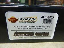 K-HO BROADWAY LIMITED-SANTA FE # 3758} 4-8-4} DC,DCC,PARAGON 3 SOUND-SMOKE