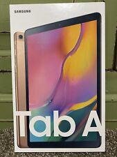 Samsung Galaxy Tab A 10.1 64GB Wifi Tablet Gold (2019) Brand New Sealed