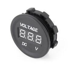 12V-24V LED Panel Digital Voltage Meter Display Voltmeter Car Voltmeter Socket