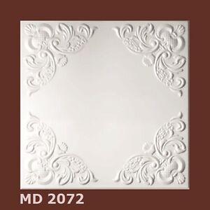 Deckenplatten Styroporplatten Decorplatten 1m²   -Neu-  MD 2072