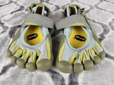 VIBRAM FIVE FINGERS W119 Sprint Slate Palm Lichen Running Shoes Sz 37