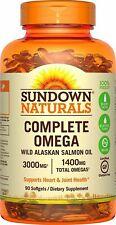 Sundown Naturals Complete Omega Softgels, 90 Count