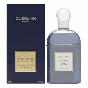 Shalimar by Guerlain for Women 6.8 oz Satin Shower Gel Brand New