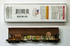 "Mtl Micro-Trains 94420 Bnsf 404059 "" 99 problems "" Fw Factory Weathered"