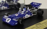Quartzo 1/43 Scale 4065 Tyrrell 004 French GP 1972 P. Depailler Diecast F1 Car