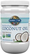 Raw Organic Extra Virgin Coconut Oil, Garden of Life, 14 oz
