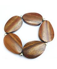 Wood Stretch Bracelet / Wooden Bracelet / Wooden Jewellery / Wooden Ladies Gift
