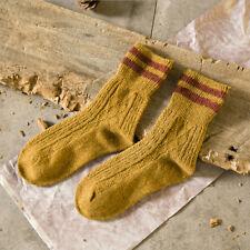5 Pairs Women Cotton Thick Warm Socks Autumn Winter Warm Stripe Design Socks HC