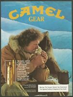 CAMEL cigarettes - CAMEL GEAR - The Camel Lighter - 1983 Vintage Print Ad