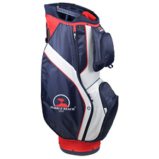 Pebble Beach Golf Club Cart Bag - Red